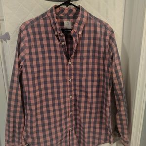 GAP Large Gingham Pink and Blue